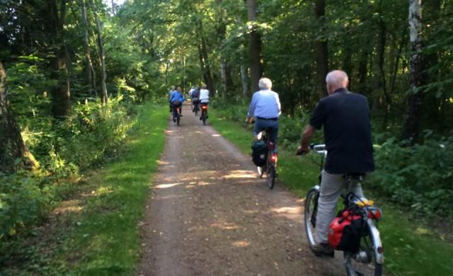 Grüne Radtour